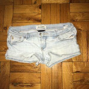 Abercrombie Kids Light Jean Shorts